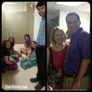 Taking shelter with friends & family
