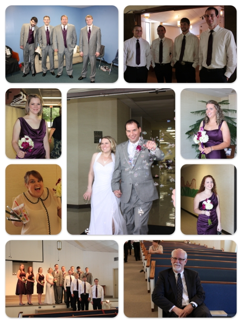Wedding Party Collage