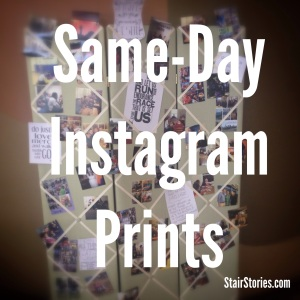 How to get same day Instagram prints | StairStories.com