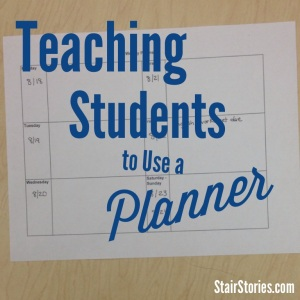 Simple, Free Student Planner | StairStories.com