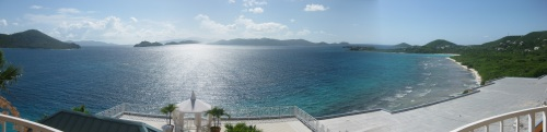 St. Thomas - Stitched from digital camera photos