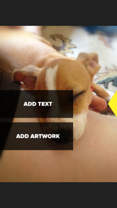 How to Add Text to Photos with Over | Abby's Apps at StairStories.com