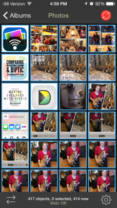 Syncing Photos with Photo Sync | Abby's Apps at StairStories.com
