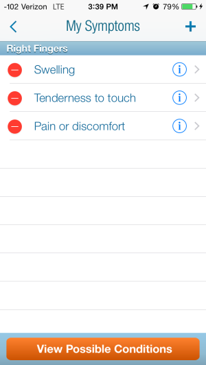 WebMD: Good App, just not for Hypochondriacs!