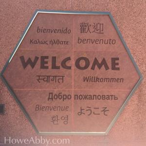 Welcome Translated in Multiple Languages